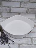 Форма для запікання квадратна, білого кольору фірми Luminark, розмір 20х20 см, 1 л, фото 3