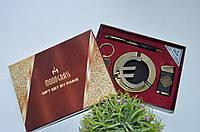 Набор подарочный набор Евро для мужчины пепельница, зажигалка, брелок, фото 1