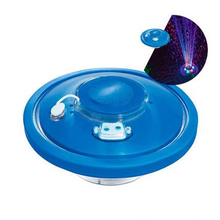 Плавающий фонтанчик с подсветкой Bestway 58493 14 см, фото 2