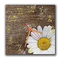 Часы настенные на кухню Простота 30х30 см