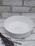 Форма для запікання кругла, білого кольору фірми Luminark, розмір 26 см, 2.8 л, фото 4