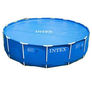 Тент для круглого бассейна Intex 29025 диаметром 549 см антиохлаждение для воды