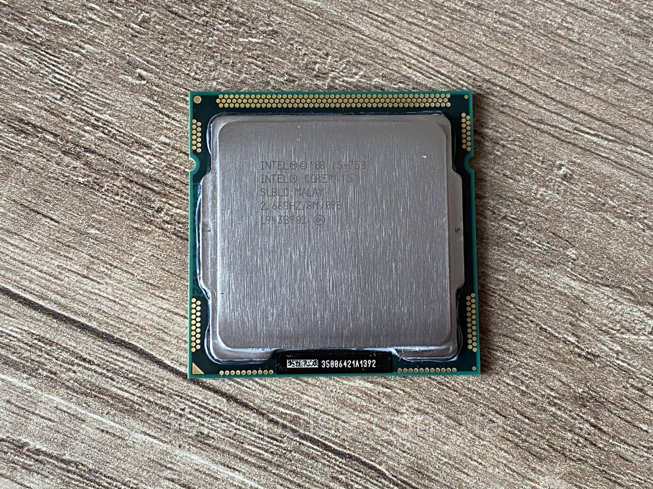 Процессор Intel Core i5-750 2.66 GHz (s1156)