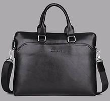 Мужская сумка вместительная DANTEN'S. Сумка для документов, ноутбука. Высокое качество. PU кожа. Код: КЕ158