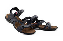 Чоловічі сандалі шкіряні літні сині StepWey 1072