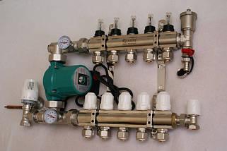 Теплый пол. Трубы и комплектующие поверхностного водяного отопления