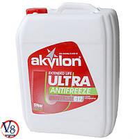 Антифриз красный Akvilon Ultra G12 готовый 10кг