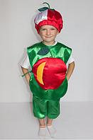 Костюм Яблока для детей 3-6 лет