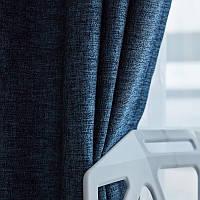 Штора Blackout Jeans Soft темно синий