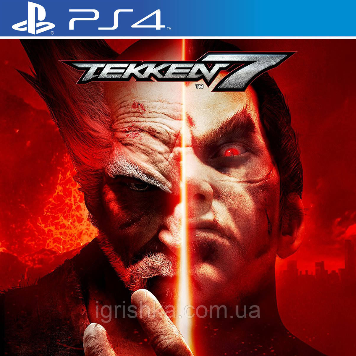 TEKKEN 7 Ps4 (Цифровой аккаунт для PlayStation 4) П3