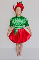 Костюм Яблочка для девочки 5-6 лет