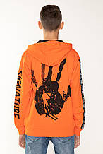 Детский бомбер для мальчика Young Reporter Польша 201-0555B-04-380-1 Оранжевый
