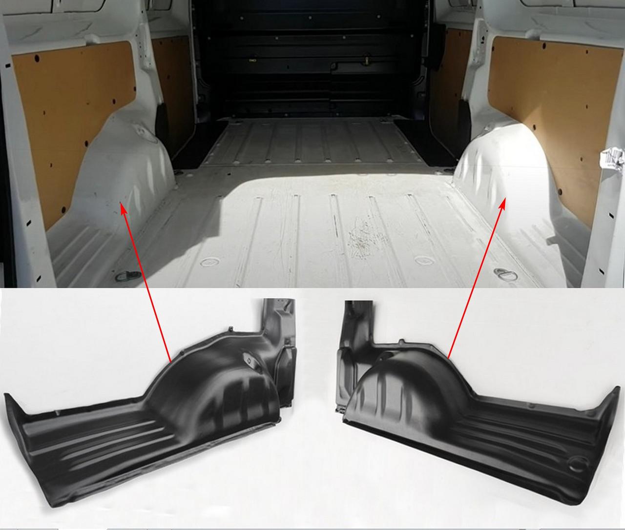 Пластикові захисні накладки на колісні арки для Citroen Jumpy III XL (5,3м) 2016+, фото 5