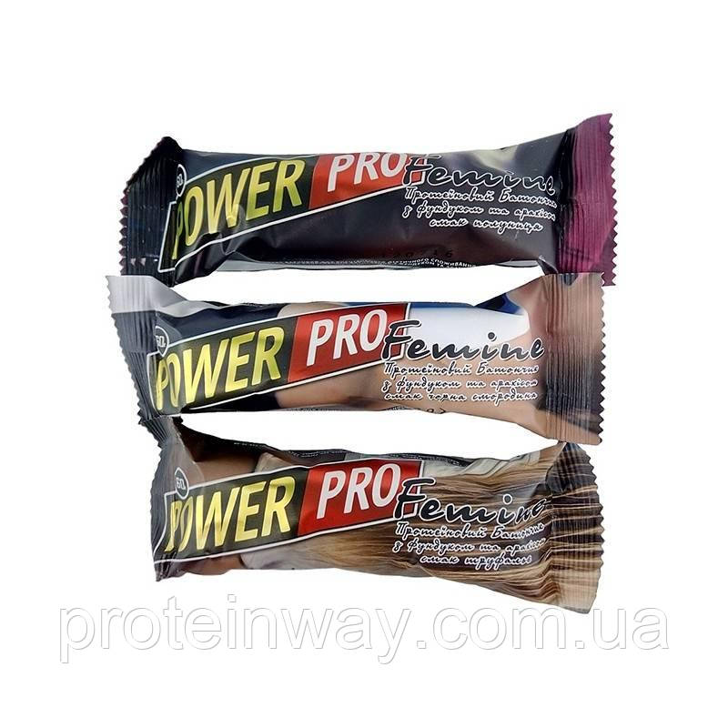 Power Pro Протеиновый батончик Femine 36% 60 г