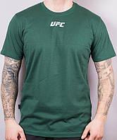 "Футболка мужская коттоновая ""UFC"" размер норма 46-52, цвет уточняйте при заказе, фото 1"