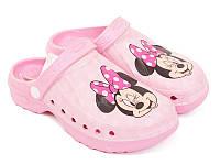 Детские кроксы CROCS 35\36 розовые Disney Minnie Mickey mouse
