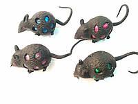 Антистресс мышка с гидрогелем и блестками