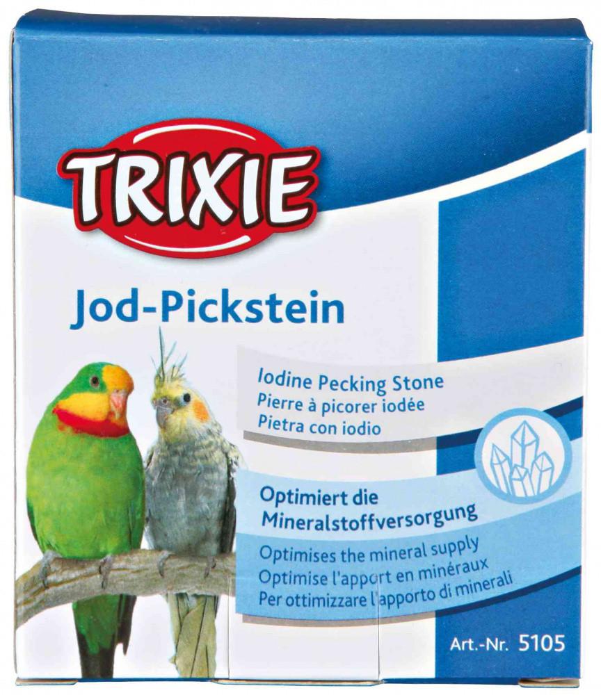 Мел йодированный для крупных попугаев Trixie 80 г