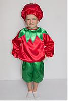 Костюм Помидора для мальчика от 3 до 6 лет