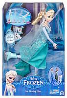DISNEY FROZEN. Кукла Эльза шарнирная на коньках, Холодное сердце., фото 1