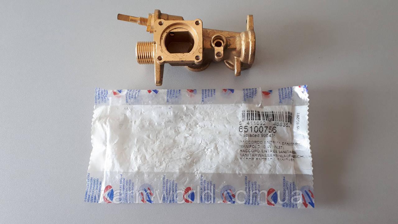 65100756 Газовый коллектор, группа подачи UNO Ariston