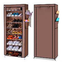 Шкаф тканевый для обуви и аксессуаров Shoe Rack and Wardrobe