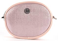 Стильная небольшая качественная овальная оригинальная сумочка Johnny art. QN-1229
