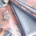 Комплект элитного постельного подросткового белья с бортиками (подушечками) для девочки от 3 лет, фото 2
