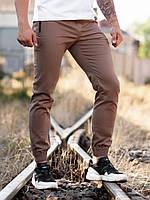 Штани джогеры Bezet Casual коричневі, фото 1