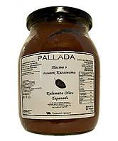 Паста из Оливок Каламата Бутербродная, Тапенад 1 кг Стекло \ паста из Маслин Каламата