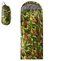 Спальный мешок туристический STENSON 210 х 75 см спальник
