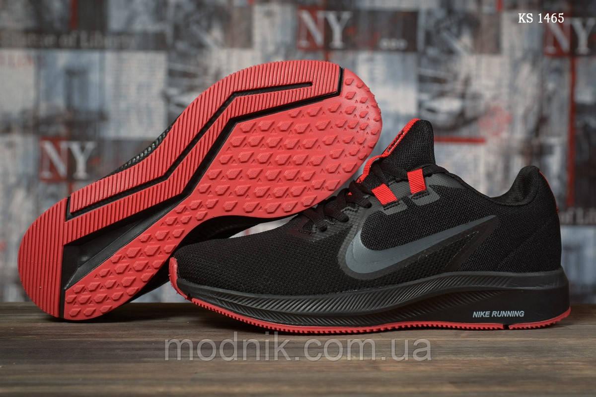 Чоловічі кросівки Nike Running (чорно-червоні) KS 1465