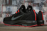 Чоловічі кросівки Nike Running (чорно-червоні) KS 1465, фото 6