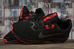 Чоловічі кросівки Nike Running (чорно-червоні) KS 1465, фото 7