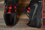 Чоловічі кросівки Nike Running (чорно-червоні) KS 1465, фото 8