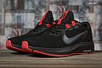 Чоловічі кросівки Nike Running (чорно-червоні) KS 1465, фото 9
