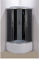 Душевой бокс 90х90 см AquaStream GLS 90 Black/High без электроники