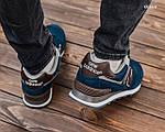 Мужские кроссовки New Balance 574 (сине-коричневые) KS 1468, фото 2