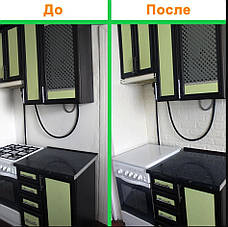Самоклеющаяся декоративная 3D панель под кирпич / Цвет Лимонный 700*770*7мм, фото 3