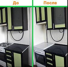 Самоклеющаяся декоративная 3D панель, вагонка / Цвет Светло-серый Дуб  700*770*7мм, фото 3