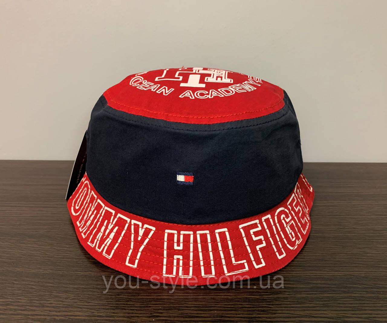 Панама Tommy Hilfiger Тёмно-синяя 140