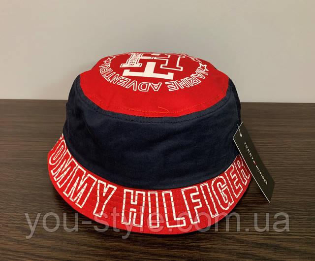 Панама Tommy Hilfiger Тёмно-синяя