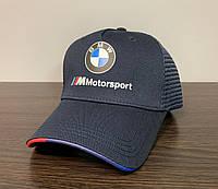 Кепка, Бейсболка BMW Motorsport Тёмно-синяя 138
