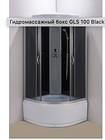 Душевой бокс 100х100 см AquaStream GLS 100 Black/High без электроники