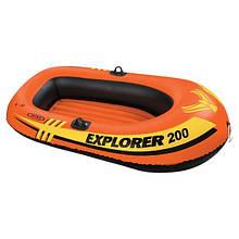 Надувная лодка Intex 38355 одноместная 160 см х 94 см х 29 см