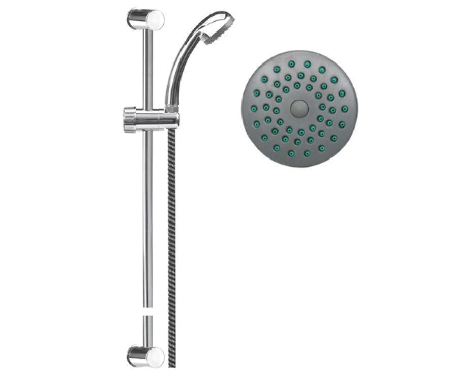 Набор для ванной комнаты - душевая лейка + шланг + мыльница Fala 75559