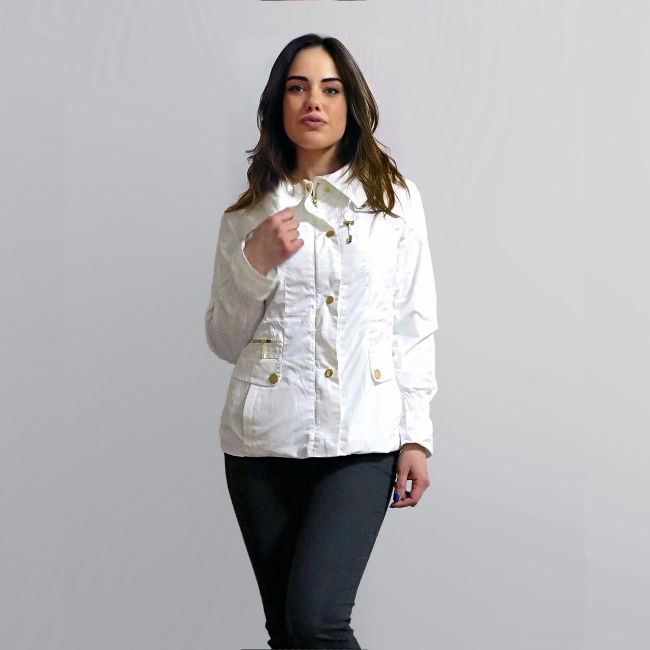 Стильный Пиджак Блейзер Белого цвета. В наличии S, M