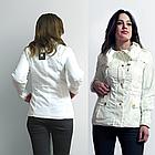 Стильный Пиджак Блейзер Белого цвета. В наличии S, M, фото 2
