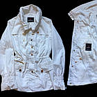 Стильний Піджак Блейзер Білого кольору. В наявності S, M, фото 3