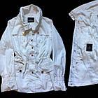 Стильный Пиджак Блейзер Белого цвета. В наличии S, M, фото 3